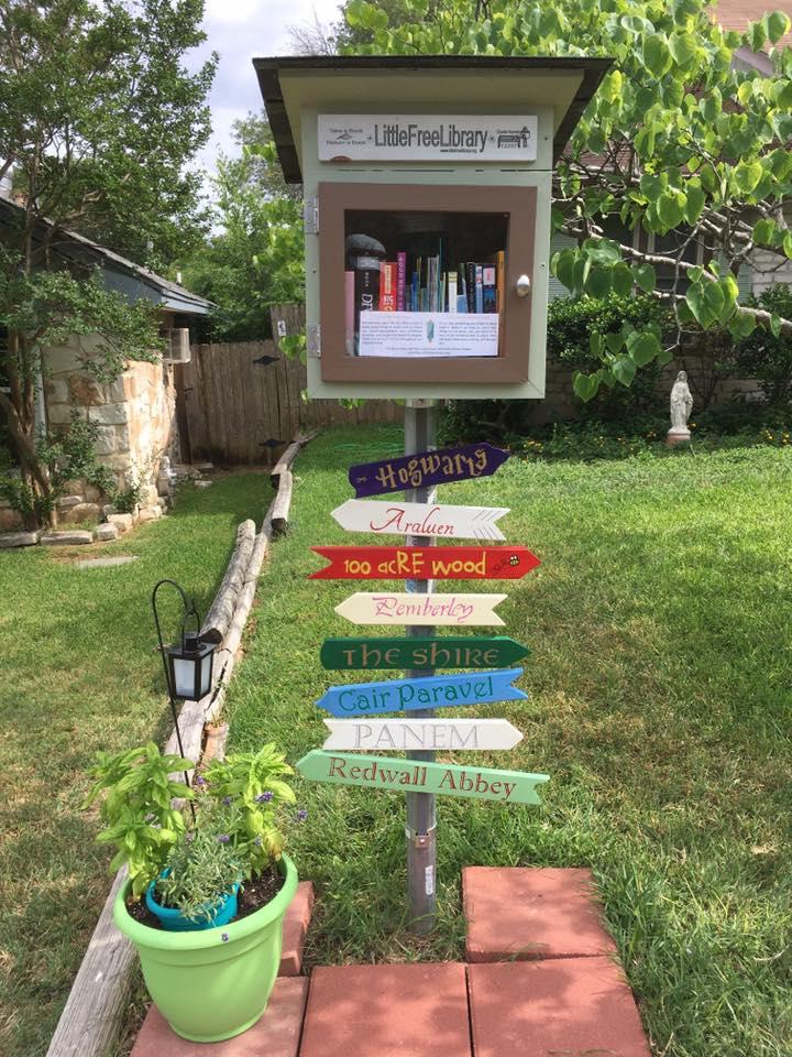 Little Free Library Boxes Wbna Wells Branch Neighborhood Association