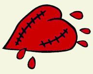 Broken Heart 2 Color tinted