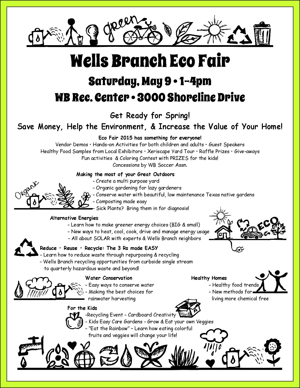 Eco Fair Flyer green