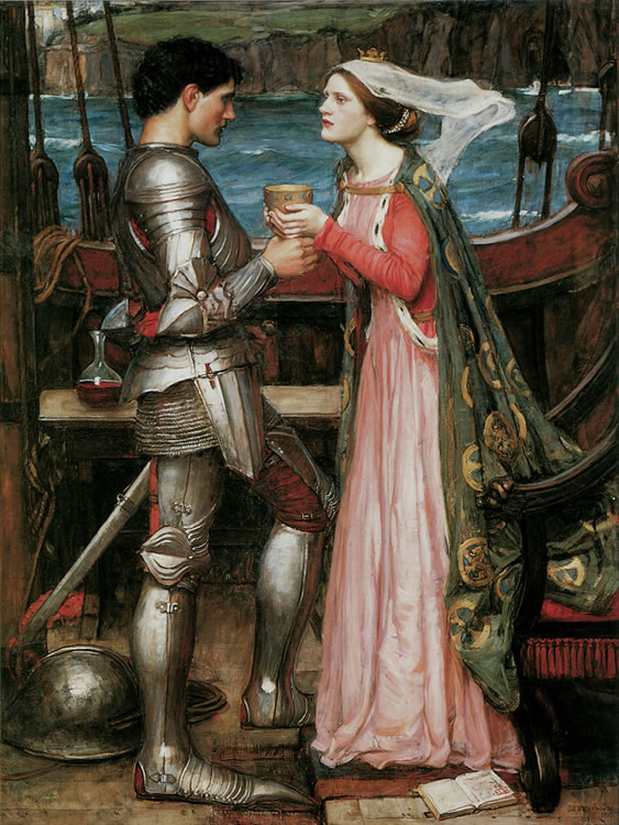Knight and maiden
