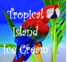Tropical Island Ice Cream